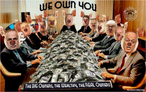 We own you-the banksters